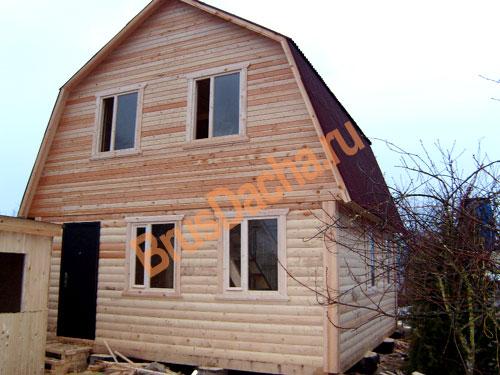 Фото дома из бруса бани из бруса