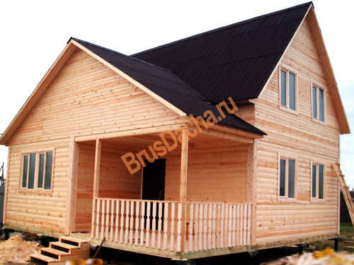 купить дом из бруса цена и фото