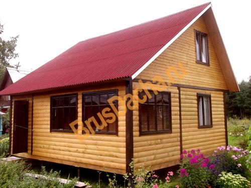 Дома 6х6 дачные дома эконом класса
