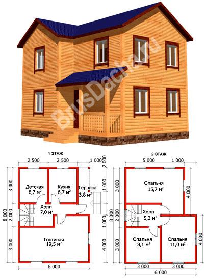 Дом 1 5 этажа - ff8f